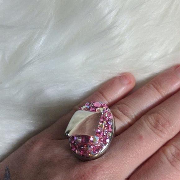 Tarina Tarantino Debbie Beasley pink ring